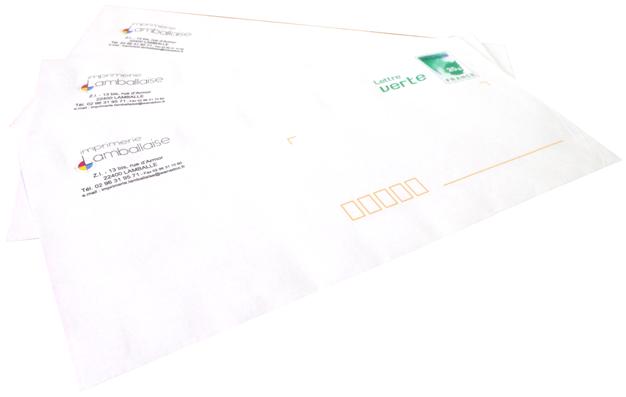enveloppes imprimées
